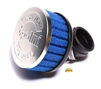 polini PHBG 90° angle blue foamy air filter - 34mm