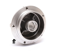 puch five star sealed bearing front wheel hub - NUDE