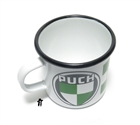 PUCH enameled steel camping rally mug!!!