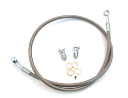 stainless steel hydraulic brake line - 28""