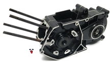 tomos OEM a35 engine case - black - special #1