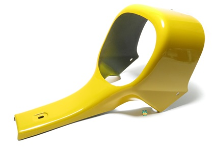 OEM tomos lower cowling fairing - YELLOW - no cutaway