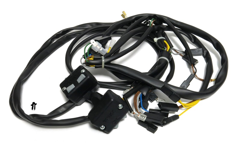 tomos OEM harness 229209 2 tomos a3 a35 and a55 moped parts tomos a3 wiring diagram at creativeand.co