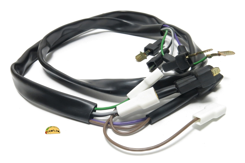 tomos OEM harness 229606 2 tomos oem wiring harness for '94 95 a35 targa rear tomos nitro 50cc wiring harnesses at gsmx.co
