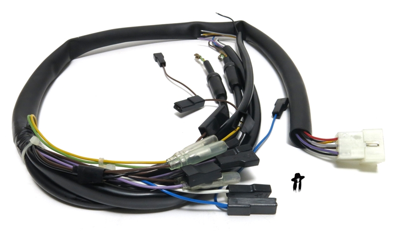 tomos OEM harness 230803 2 tomos oem wiring harness for '01 08 st lx front tomos nitro 50cc wiring harnesses at gsmx.co