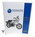 tomos OEM lx spare parts manual 2008