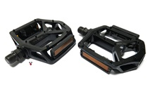 wellgo Y-DECK pedals - aluminum gloss black
